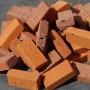 Multi Red Bricks - Small Pack of 50