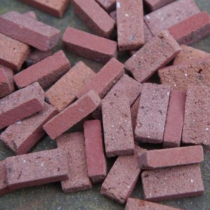 Victorian Red Bricks - Small Pack of 50