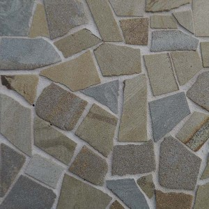 Green Stone Crazy Paving - Small Pack