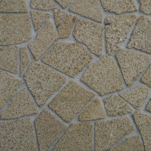 Yellow Sandstone Crazy Paving - Large Pack
