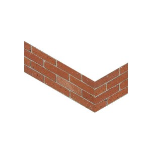 Georgian Red Corner Slips - Small Pack of 50