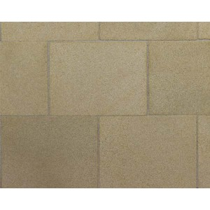 """Yellow Sandstone 2"""" x 1 1/2"""" Flagstones - Small Pack"""