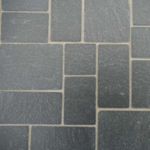 Real Slate Squared Random Flagstones - Small Pack