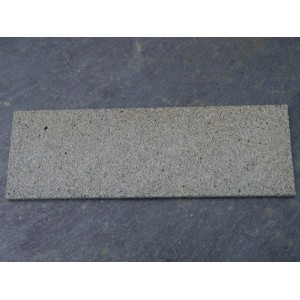 Grey Stone Fireplace Hearth - Small