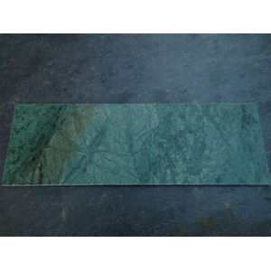 Royal Jade Green Marble Fireplace Hearth - Small