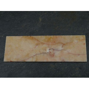 Veined Sunset Marble Fireplace Hearth - Small