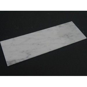 White Marble Fireplace Hearth - Small