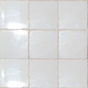 """Clouded White 3/4"""" Ceramic Tiles - Small Pack"""