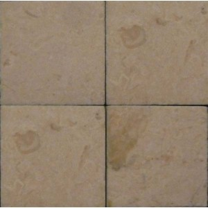 """Cream Marble 1"""" Tiles - Pack of 25"""