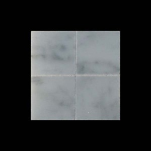 "White Marble 1"" Tiles - Pack of 25"