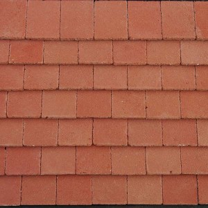 Victorian Red Roof Tiles - Small Pack of 50