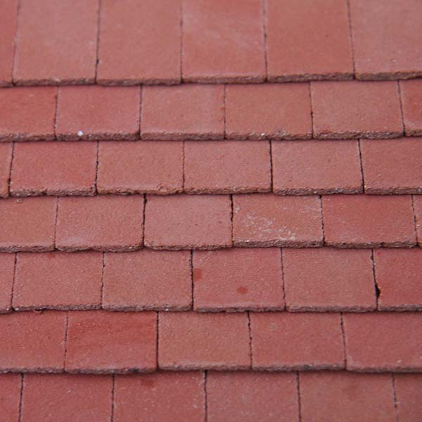 Victorian Red Roof Tiles Large Pack Of 250