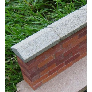 Grey Stone Wall Copings 22mm - Small Pack of 5