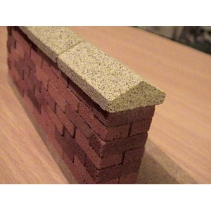 Yellow Sandstone Wall Copings 22mm - Large Pack of 20