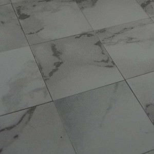 Light Veined White Marble-esque Tiles - Pack of 25