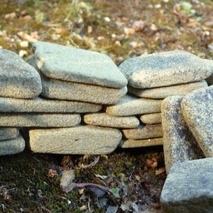 Yellow Sandstone Dry Stone Walling - Large Pack