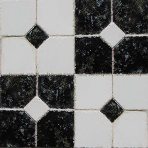 4 Decorative Ceramic Tiles Large Pack
